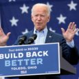 "Democratic nominee Joe Biden delivered a speech in front of 30 socially-distanced cars of supporters at a ""drive-in rally"" on Monday in a warring event with Vice President Mike Pence […]"
