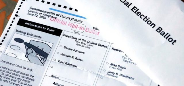 CAN MAIL IN BALLOTS PROCESS REALLY BE TRUSTED????? The Justice Department on Thursday said the FBI has opened an investigation into nine absentee ballots — seven cast for President Trump […]